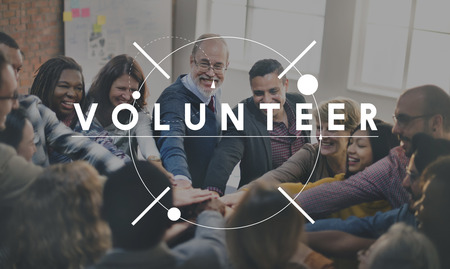 Volunteer Charity Aid Assistant Giving Help Concept Reklamní fotografie