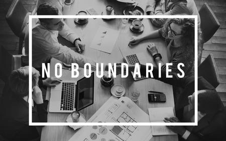 boundaries: No Boundaries Community Explore Immigration Concept