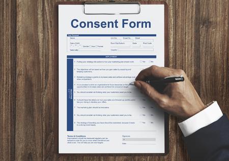 Formulario de Consentimiento concepto de atención médica del Hospital Médica