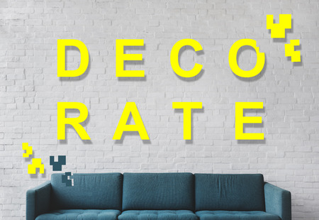 decorate: Decorate Room Design Living Home Modern Concept