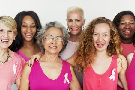 乳房癌細胞腫瘍女性概念 写真素材