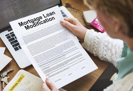 Hypothekarkredit Antrag Änderung Dokumentenkonzept
