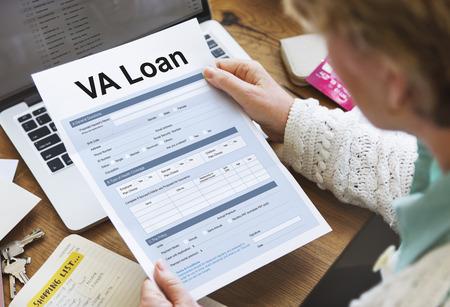 human resource affairs: VA Loan Veterans Affair Concept