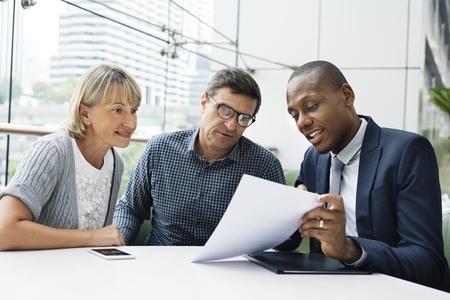 Połączenie Business Communication Ludzie Concept