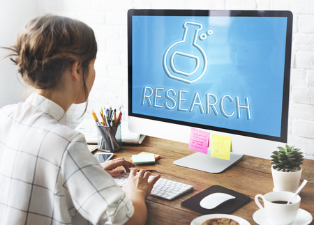 experimentation: Science Biology Academic Research Concept Stock Photo