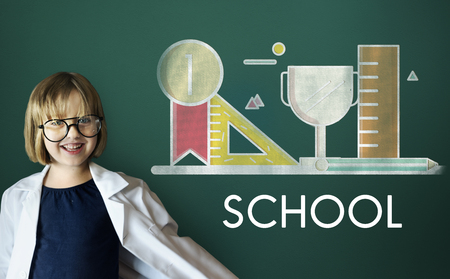 geeky: School Educational Knowledge University Learning Concept