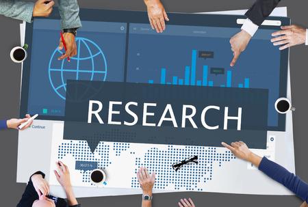 Marketing Research Opstarten van bedrijven Organisatie Concept
