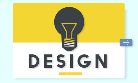 Lightbulb with design concept