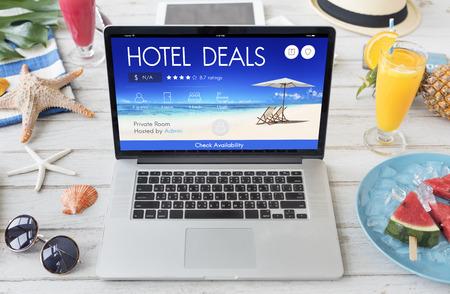 inn: Hotel Deal Accommodation Lodge Motel Inn Concept