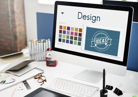 Design Be Creative Inspiration Concept