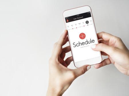 Schedule Time Management Planner Concept Zdjęcie Seryjne