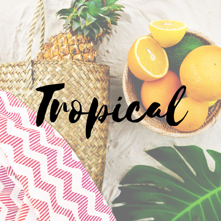 non: Summer Break Lifestyle Oranges Vacation Words Concept