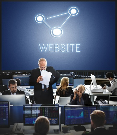 homepage: HTTP Homepage Internet Online Concept Stock Photo
