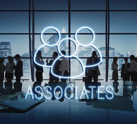 Associates Team Leadership Partnership Concept