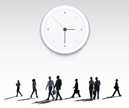 lady clock: Clock Watch Time Moment Concept Stock Photo