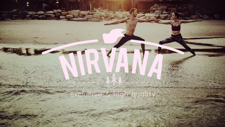 awakening: Nirvana Awakening Bliss Peace Relaxation Serenity Concept