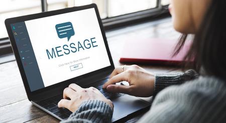 Messenger: Messenger Social Online Homepage Concept