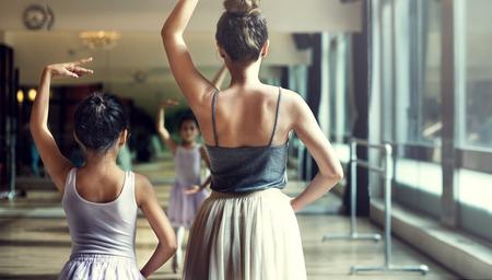 Ballerine Ballet Danse Pratique Concept Innocent