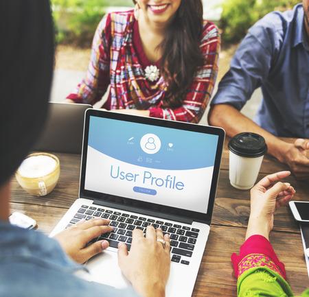 User Profile Account Volg Concept