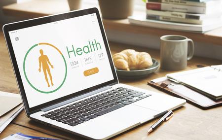 Salud Enfermedad tratamiento vitalidad nutrición concepto de bienestar