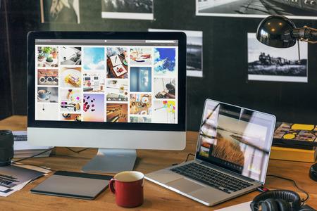 Photographie Idées Profession créative Design Concept studio Banque d'images