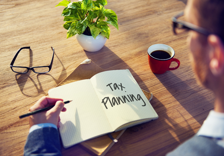 finance concept: Tax Time Season Finance Concept Stock Photo
