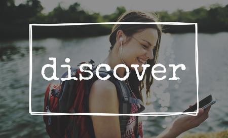discover: Discover Escape Yolo Travel Concept