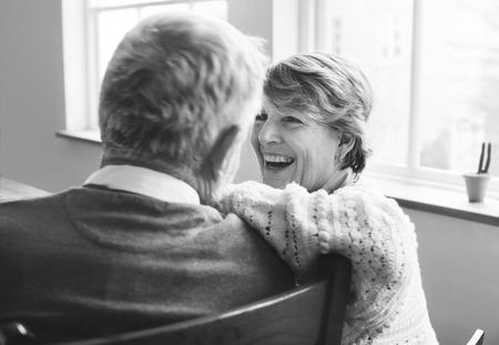 pensioner: Husband Wife Senior Pensioner Retirement Couple Concept Stock Photo