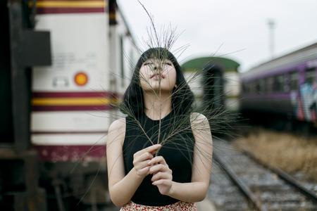 adolescencia: La adolescencia atractivo magnífico de la belleza Concepto Vogue Foto de archivo