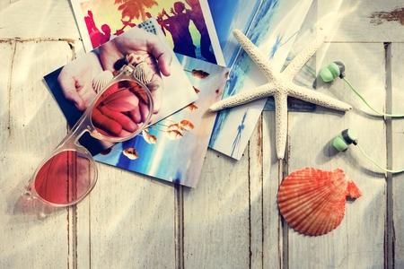 springbreak: Pictures Starfish Seashells Images Memories Beach Concept