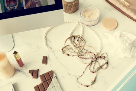 consumerism: Chocolate Consumerism Digital Offering Concept