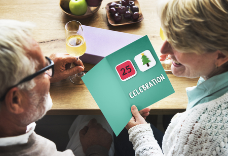 celebration: Happy Christmas Holiday Celebration Concept