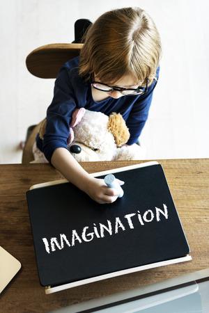 envision: Dream Big Imagination Goal Target Inspiration Concept