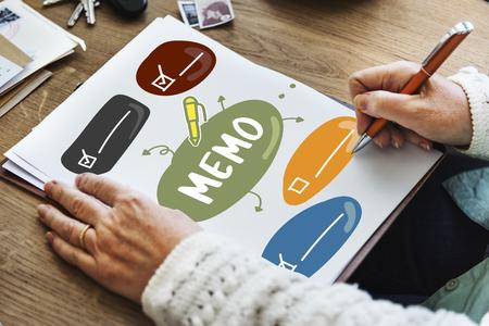 content writing: Plan Task Memo List Concept