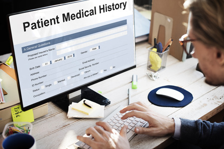 social history: Patient Medical History Form Concept