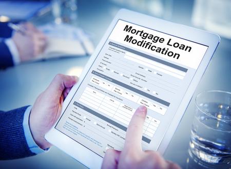 Hypothekendarlehen Pfand Pfand Refinance Versichern Konzept