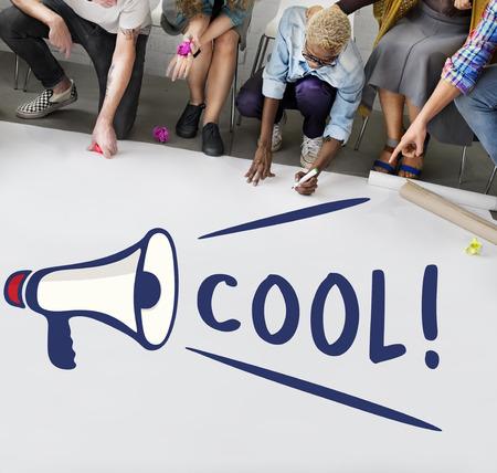 gosh: Wow Oops Cool Nice Omg Gosh Amazed Surprise Concept Stock Photo