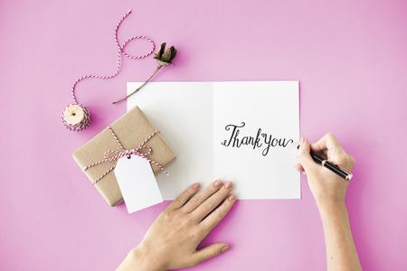 agradecimiento: Gracias Gracias regalo Apreciar Gratitud Concept