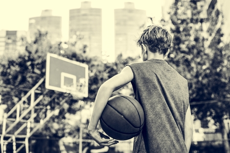 skill: Basketball Athlete Sport Skill Playing Exercise Concept