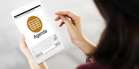 Schedule Task Agenda Appointment Planning Strategy Concept Stock Photo