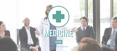 symptoms: Medicine Medication Diagnosis Symptoms Illness Disorder Concept