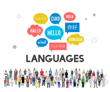 multilingual: Multilingual Greetings Languages Concept