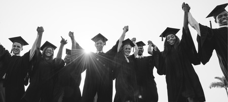 Achievement Graduation Student College School Concept Banque d'images