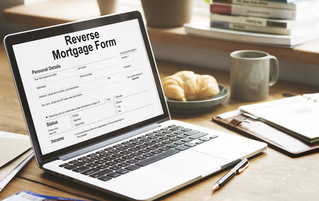 purchase order: Reverse Mortgage Form Payslip Purchase Order Concept