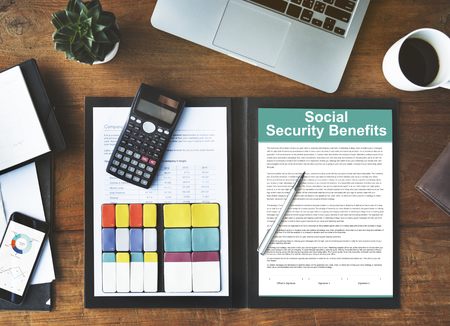 place of employment: Social Security Benefits Agreement Concept