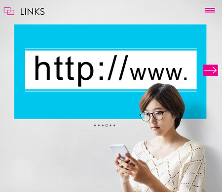 http  www: Website Domain Internet HTTP WWW Graphic Concept