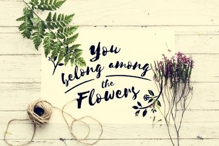 recreational pursuit: Flower Decorating Florist Hobby Recreational Pursuit Concept