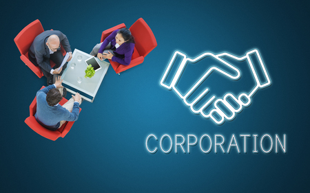 capitalist: Partnership Agreement Cooperation Collaboartion Concept