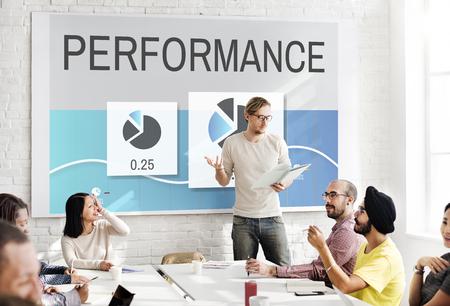 perfomance: Progress Perfomance Marketing Planning Concept Stock Photo