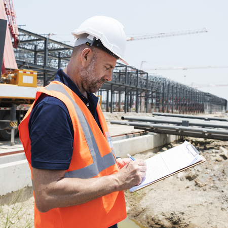topografo: Architect Contractor Professional Building Career Concept